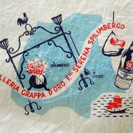 carta per confezioni della distilleria f.lli Serena