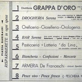 pubblicità anno 1963 per il Barbacian, periodico della Proloco di Spilimbergo