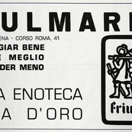 pubblicità anno 1976 per il Barbacian, periodico della Proloco di Spilimbergo